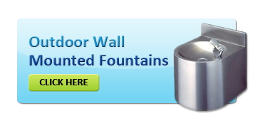 Wall Mounted Outdoor Drinking Fountains