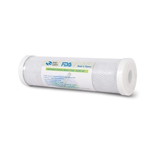 "Coconut-Based Carbon Block Water Filter Cartridge, 10"", 5micron"