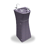 Crystal Mountain Blizzard Floor-Standing Drinking Fountain (HDPE Cabinet)