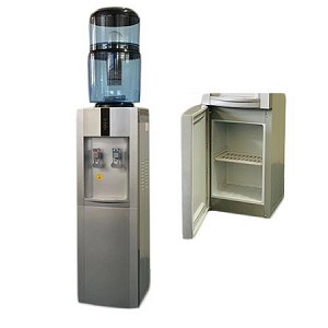 Storm, Floor-Standing, Hot & Cold complete with Purifier and Mineraliser Bottle and Storage Cabinet